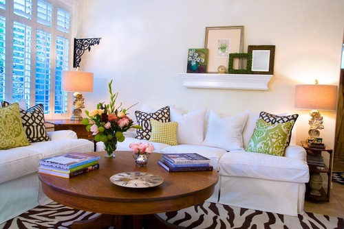 Stacey Costello Design eclectic family room