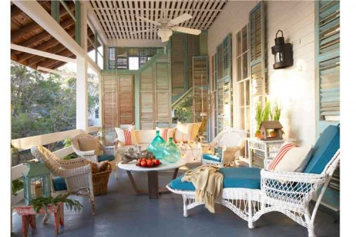 Jean Allsopp Photography eclectic porch
